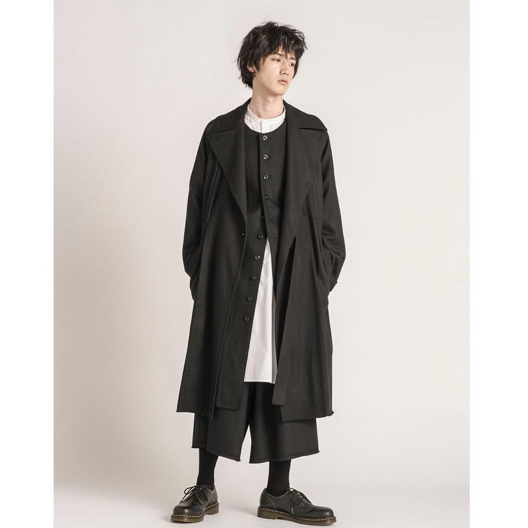 b109f680298 s yte  Compression wool Tielocken coat