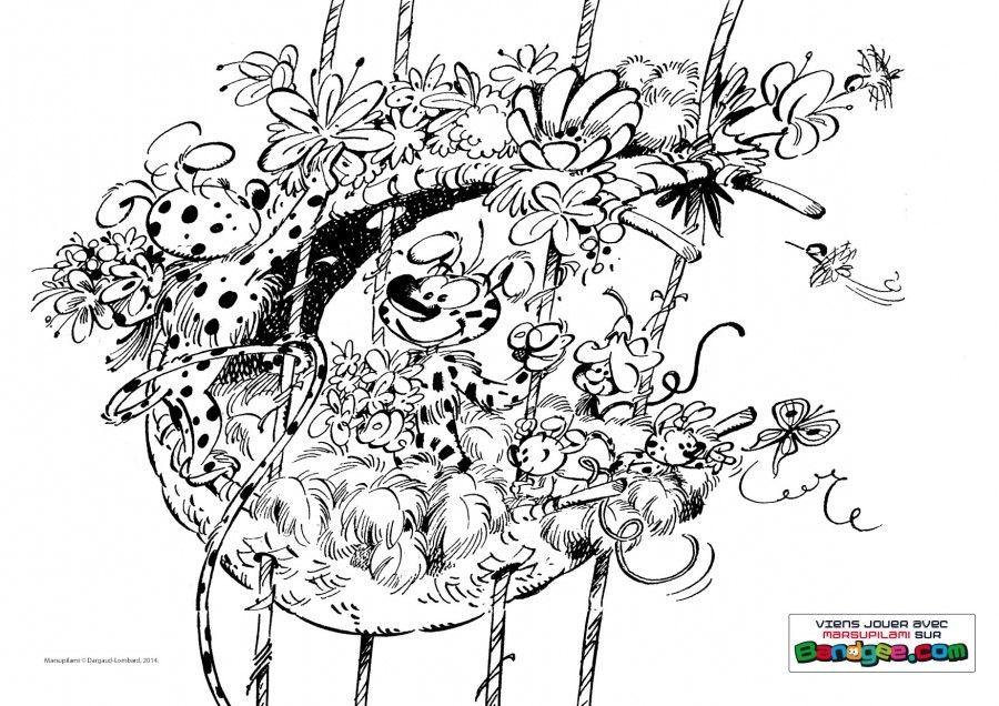 Pin Oleh Lmi Kids Di Le Marsupilami