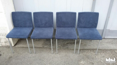 Piccoli mobili ~ Sedie blue velluto no name piccoli mobili usatiin vendita nel