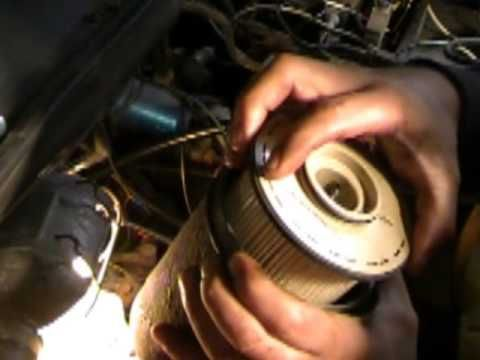 How To Change A Fuel Filter On Your 24 Valve 5 9 Cummins With Images Cummins Fuel Valve