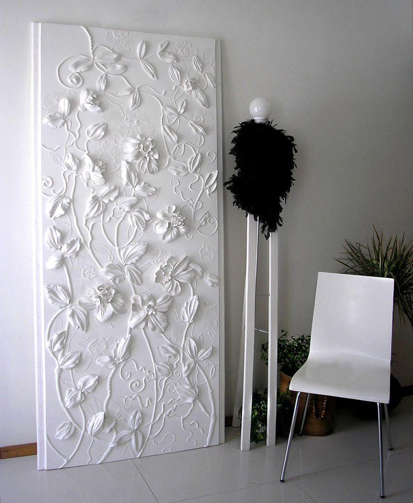 VLIES   TAPETEN FOTOTAPETE FOTO Skulptur BLUMEN KUNST ABSTRAKTION 3D 10052 VET