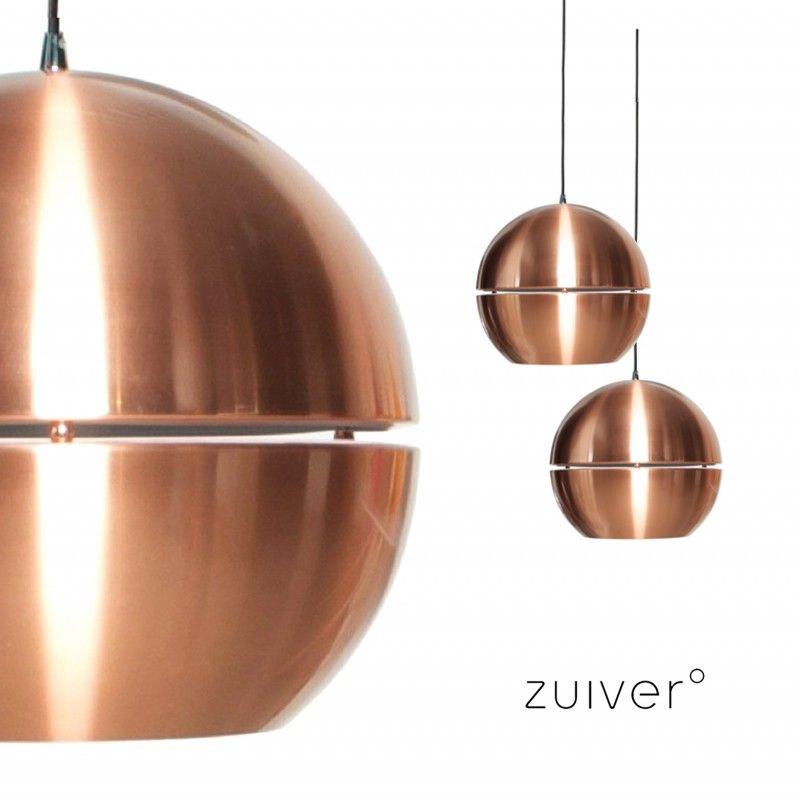 Copper 70ies retro hanglamp zuiver lampen retro for Aparte lampen
