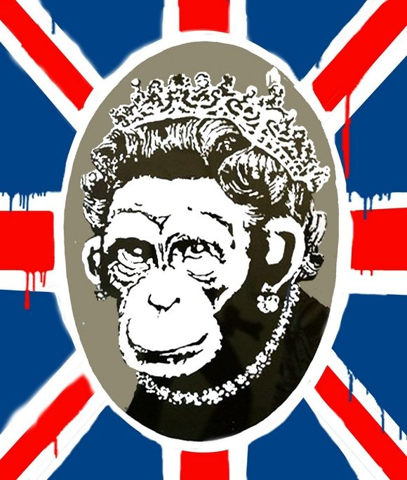 Banksy | Queen Elizabeth