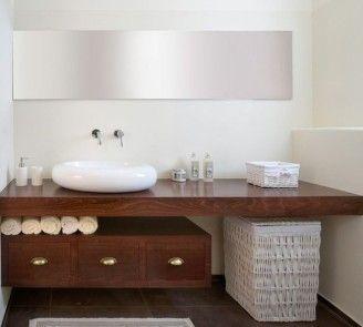 Floating Vanity And Granite Countertop Contemporary Bathroom 13