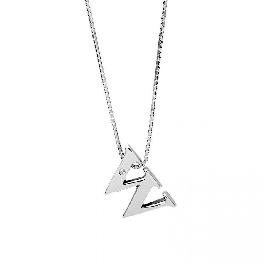 Letter w silver diamond pendant diamond pendant pendants and diamond
