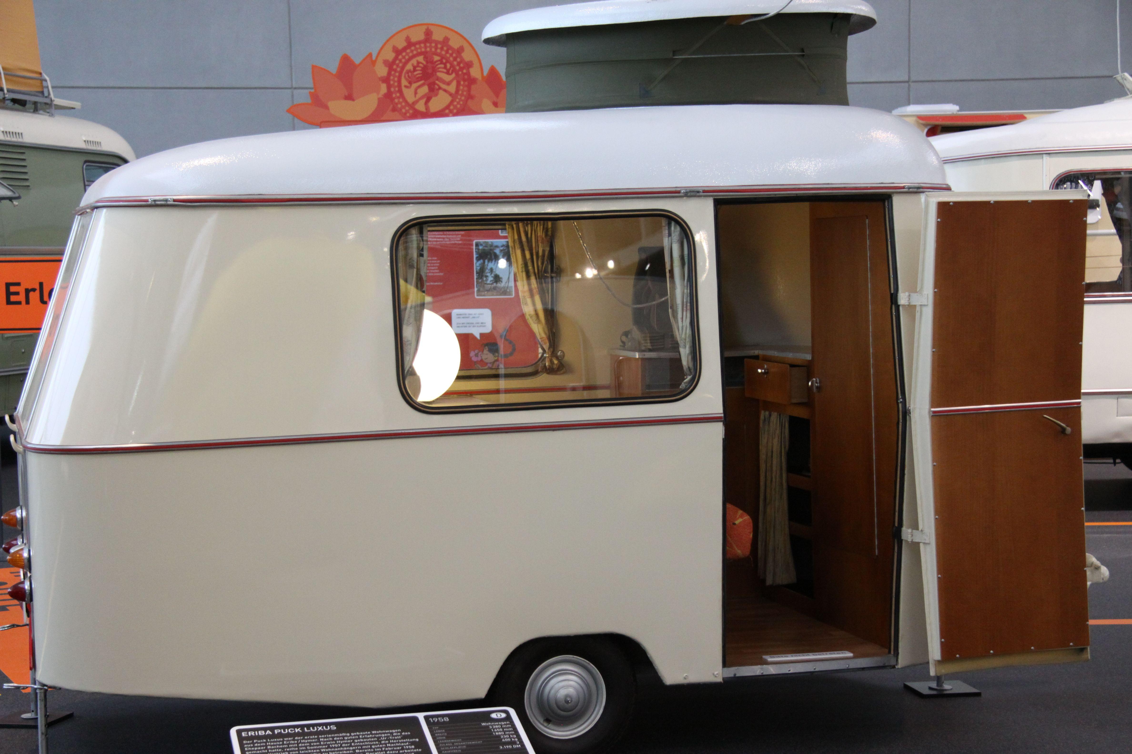 eriba puck im hymer museum vintage oldtimer wohnwagen pinterest. Black Bedroom Furniture Sets. Home Design Ideas
