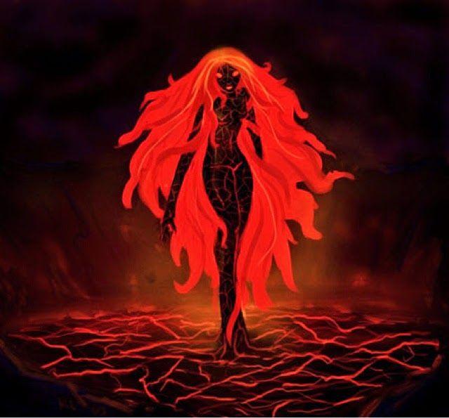 Madame Pele/'s Passion 3d Star