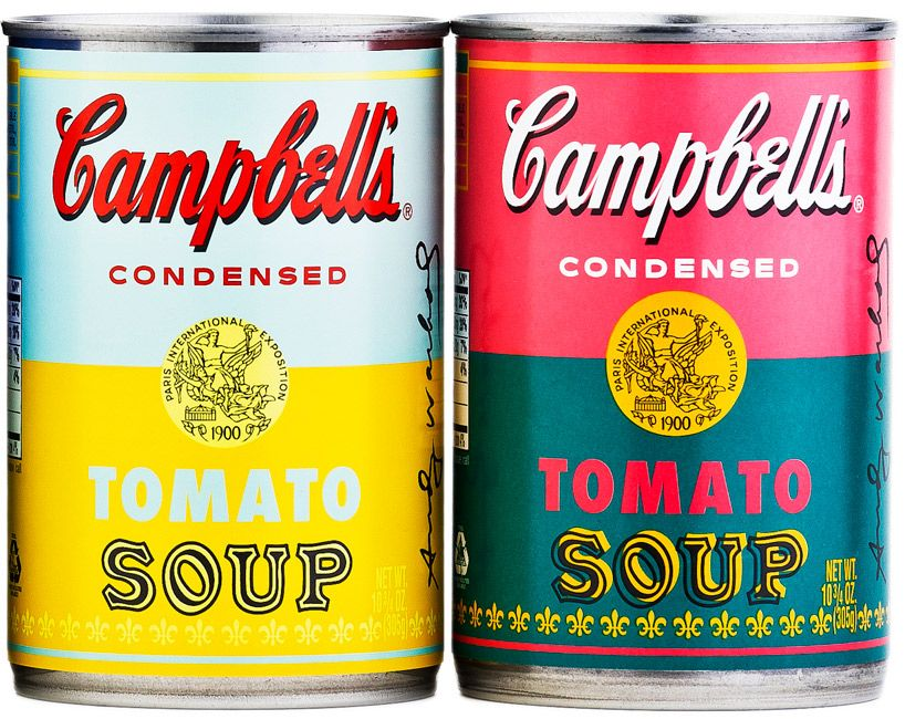 Andy Warhol Limited Edition Campbell S Soup Can Labels Campbell S Soup Cans Andy Warhol Soup Cans Andy Warhol