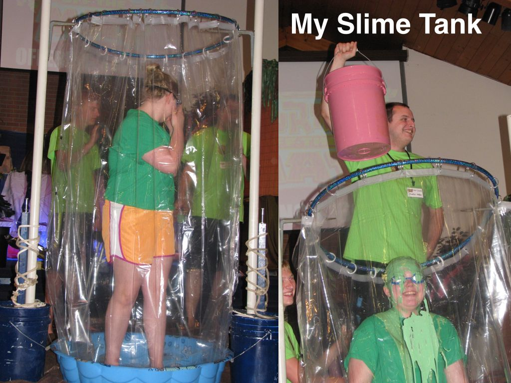 Homemade Slime Tank For Journey Off The Map Summer Fun For Kids Slime Party Maker Fun Factory