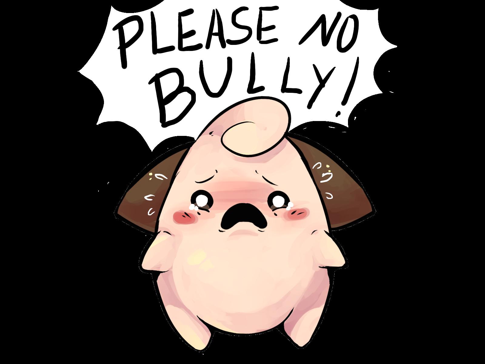 Pls no bully. Bullying, Pokemon 20, Pokemon