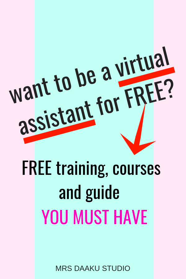 How To Become A Virtual Assistant For Free Make 30 An Hour