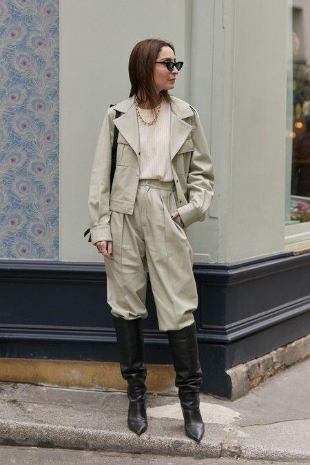 Photo of Se non sai indossare i pantaloni larghi questo inverno, questi look da street style ti daranno l'ispirazione di cui hai bisogno (Jared)