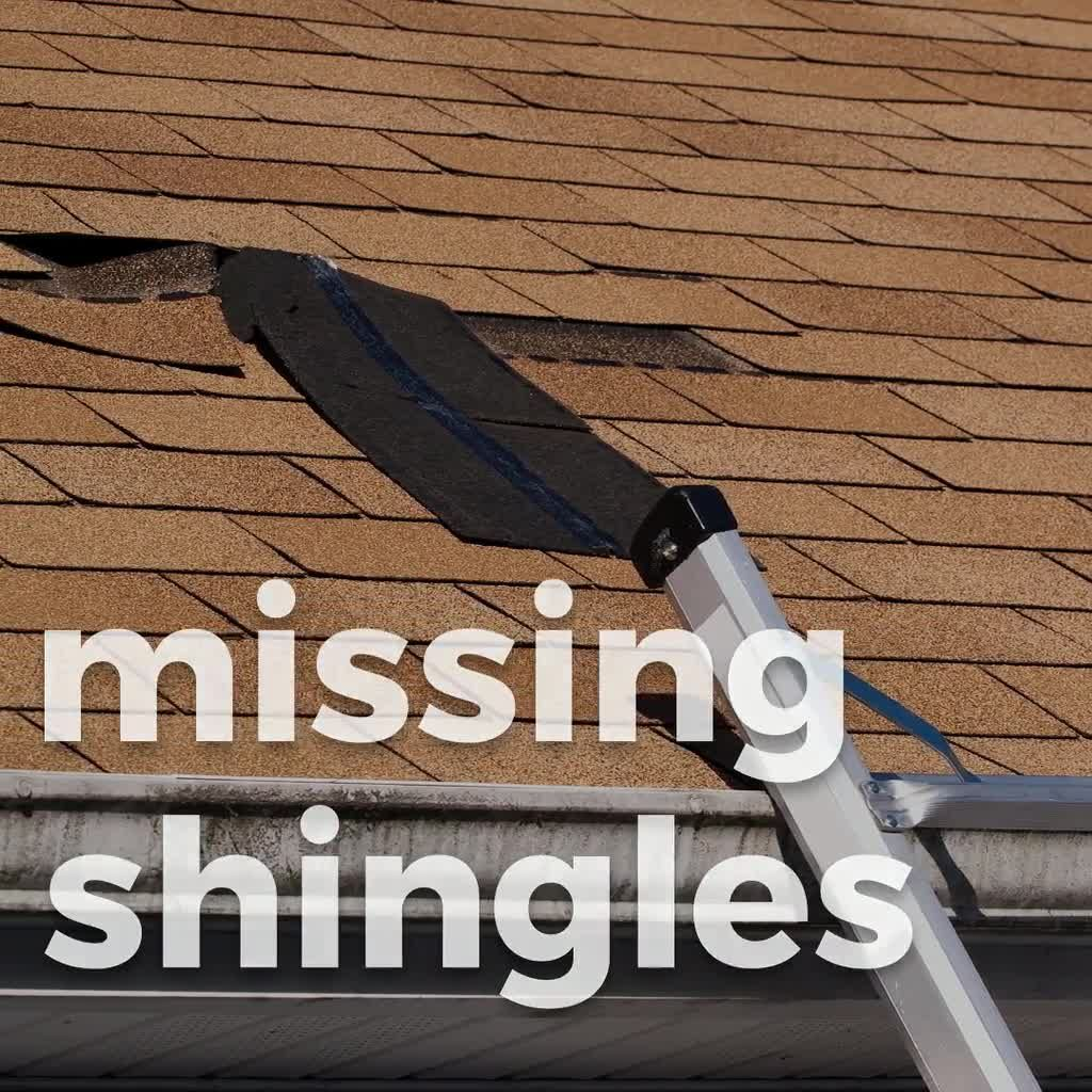 There Are Several Types Of Damage High Winds Can Cause To Your Roof Including Leaks Missing Shingles And Gutter Proble Gutter Repair Roof Repair Contractors