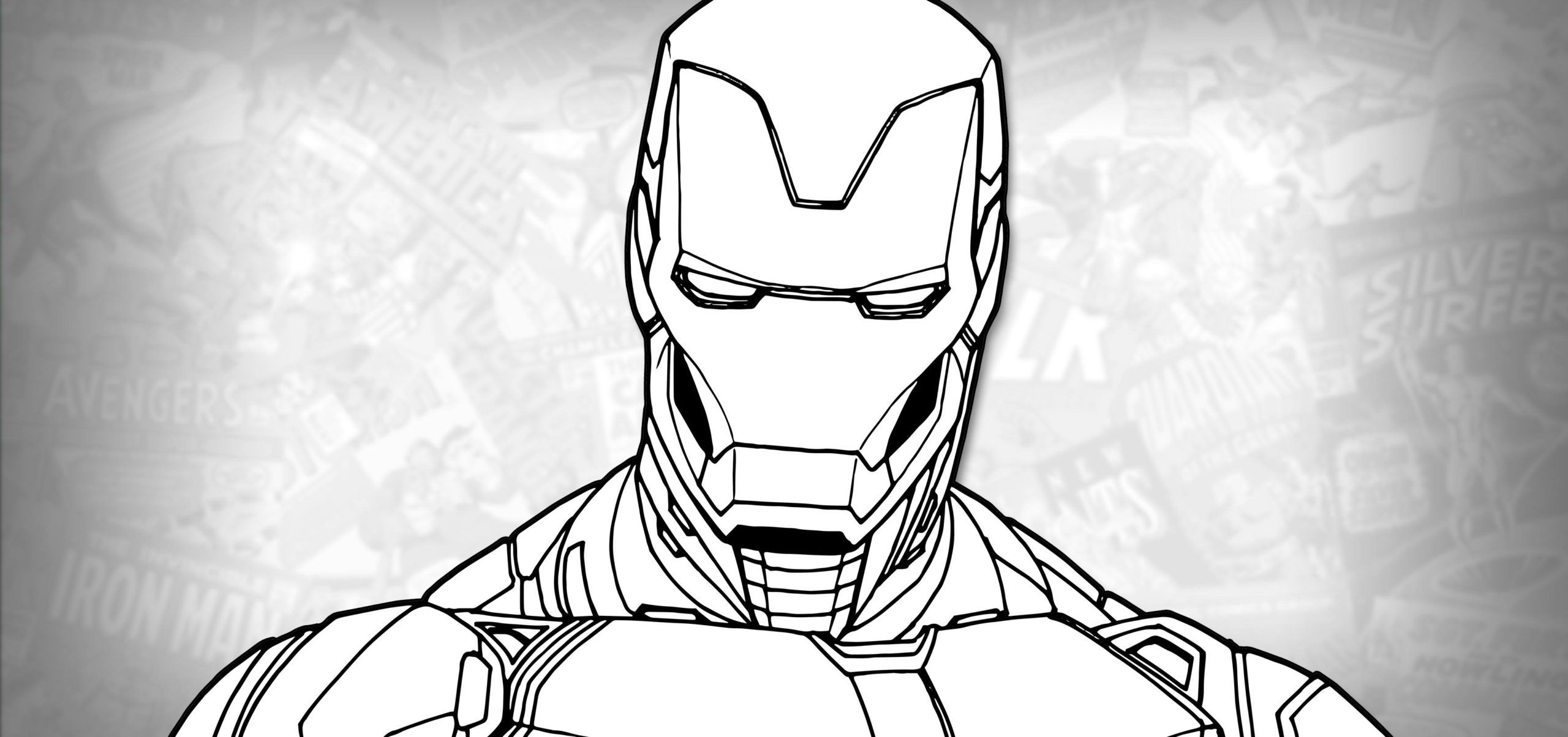 51 Iron Man Mark 50 Coloring Page Coloring Pages Iron Man Color