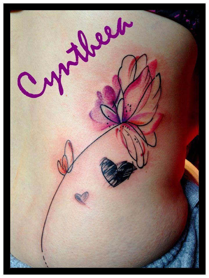 Coeurs - Cyntheea artiste tatoueuse, Boucherville