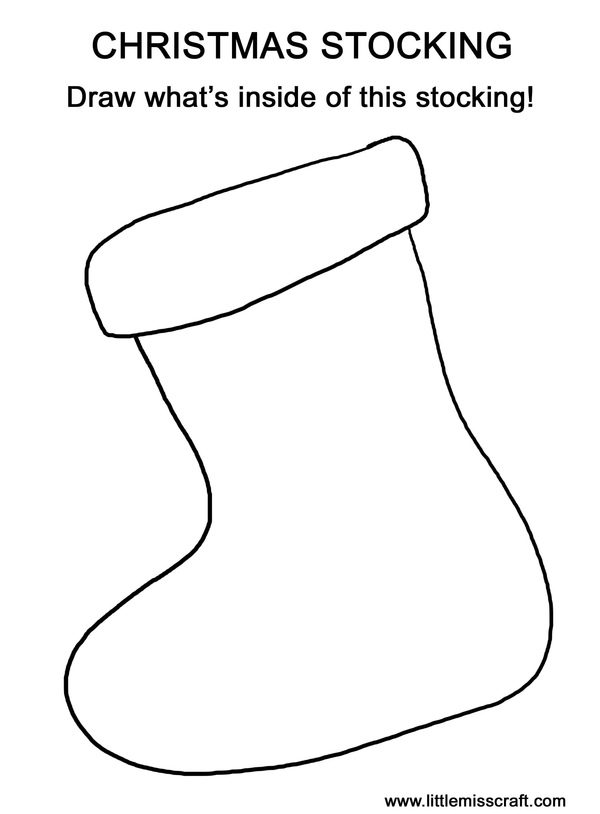 Christmas Coloring Pages For Preschool