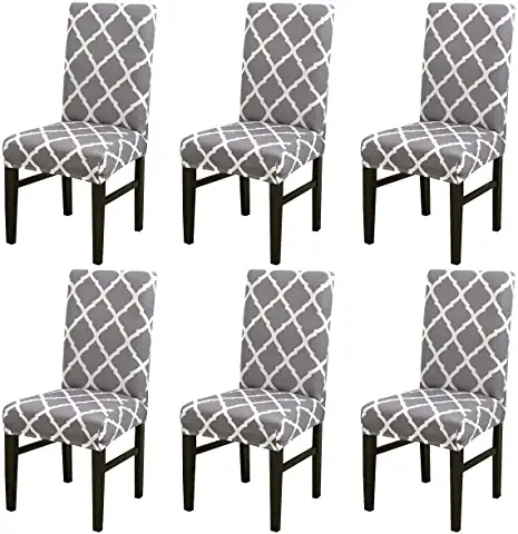 Amazon Com Universal Chair Covers Slipcovers For Chairs Dining Chair Slipcovers Seat Covers For Chairs