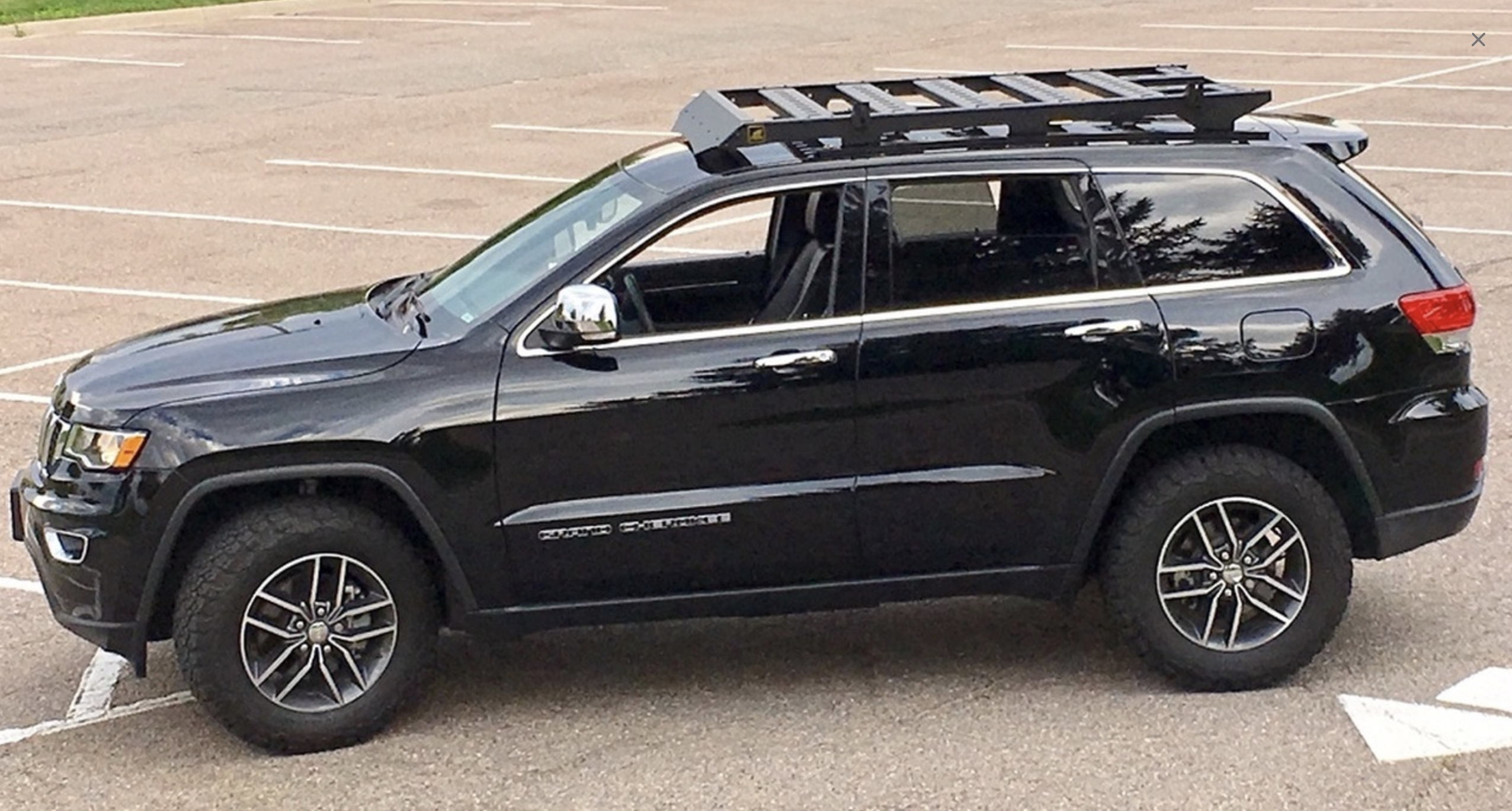 offroad animal roof rack wk2 jeep