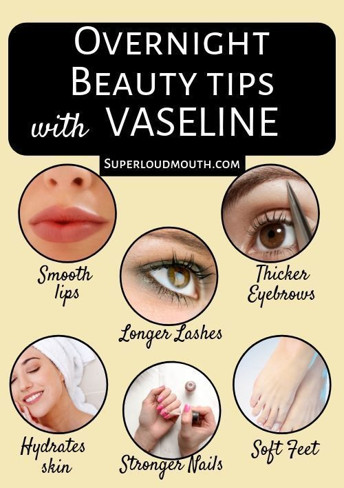 Vaseline Beauty Tips for Hair, Face, Skin, and Lips
