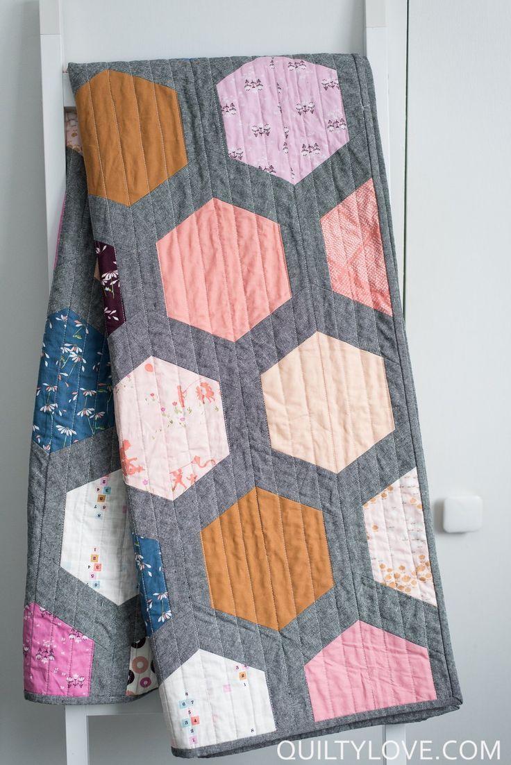 Hexie Framed PDF Quilt Pattern | Pdf, Patterns and Patchwork : pdf quilt patterns - Adamdwight.com