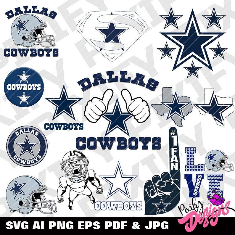 Dallas Cowboys svg B1 Cowboys svg Dallas Cowboys Etsy in