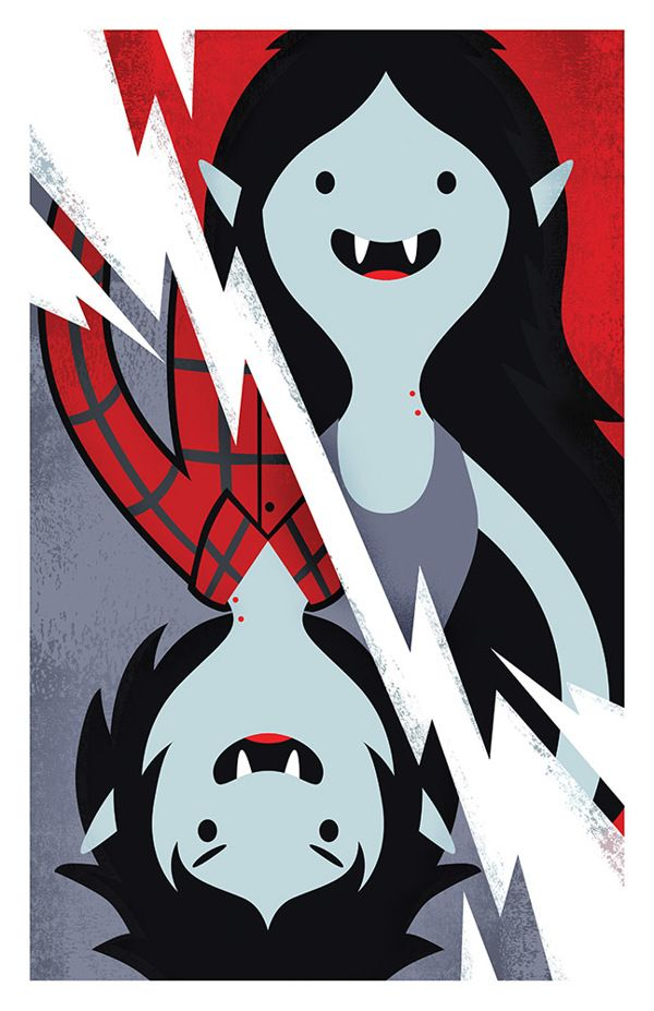 Marceline Marshall Lee By Matt Reedy Via Behance
