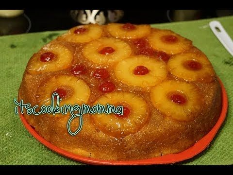 Moist, Delicious Pineapple upside down cake from scratch| Kitchenaid - YouTube