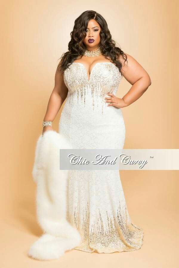Black bride african and african american wedding ideas for Plus size african wedding dresses
