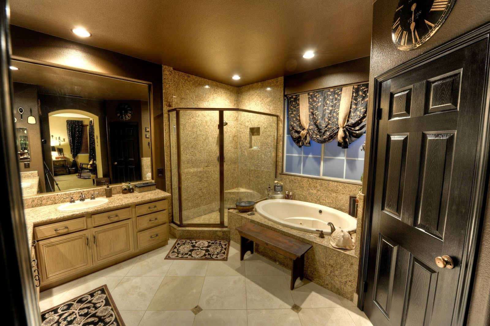master bath before and after mini reno  contemporary