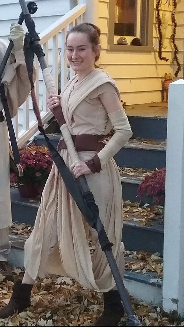 STAR REY ADULTS COSTUME All Sizes Larp-Cos-Play-Comic Con-TV-Film
