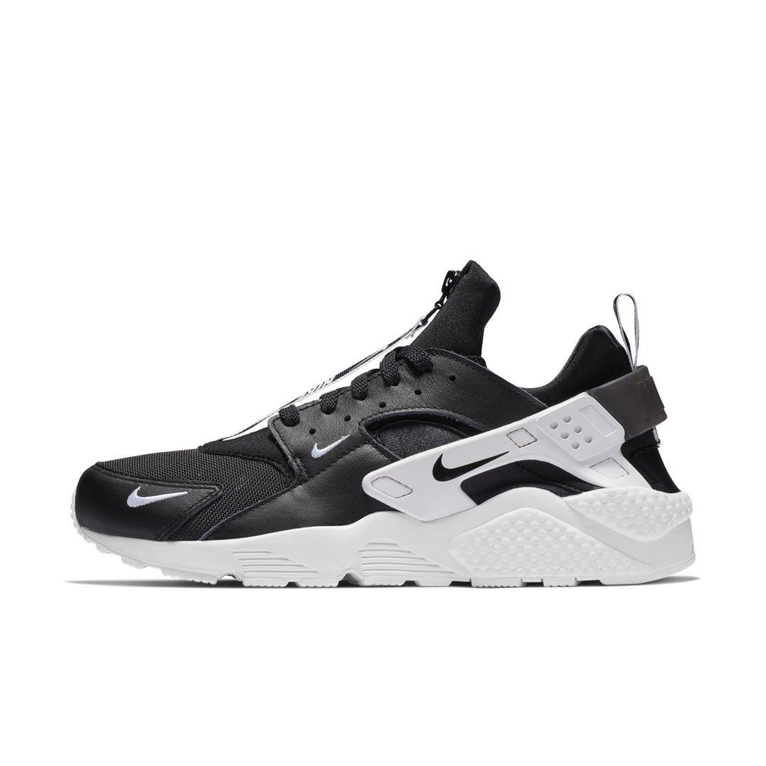 81da4c0e1f67 Nike Air Huarache Run Premium Zip Men s Shoe Size 6 (Black)