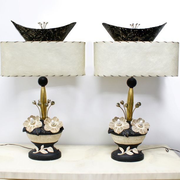 50s Pair Of Lamps design inspiration on Fab.