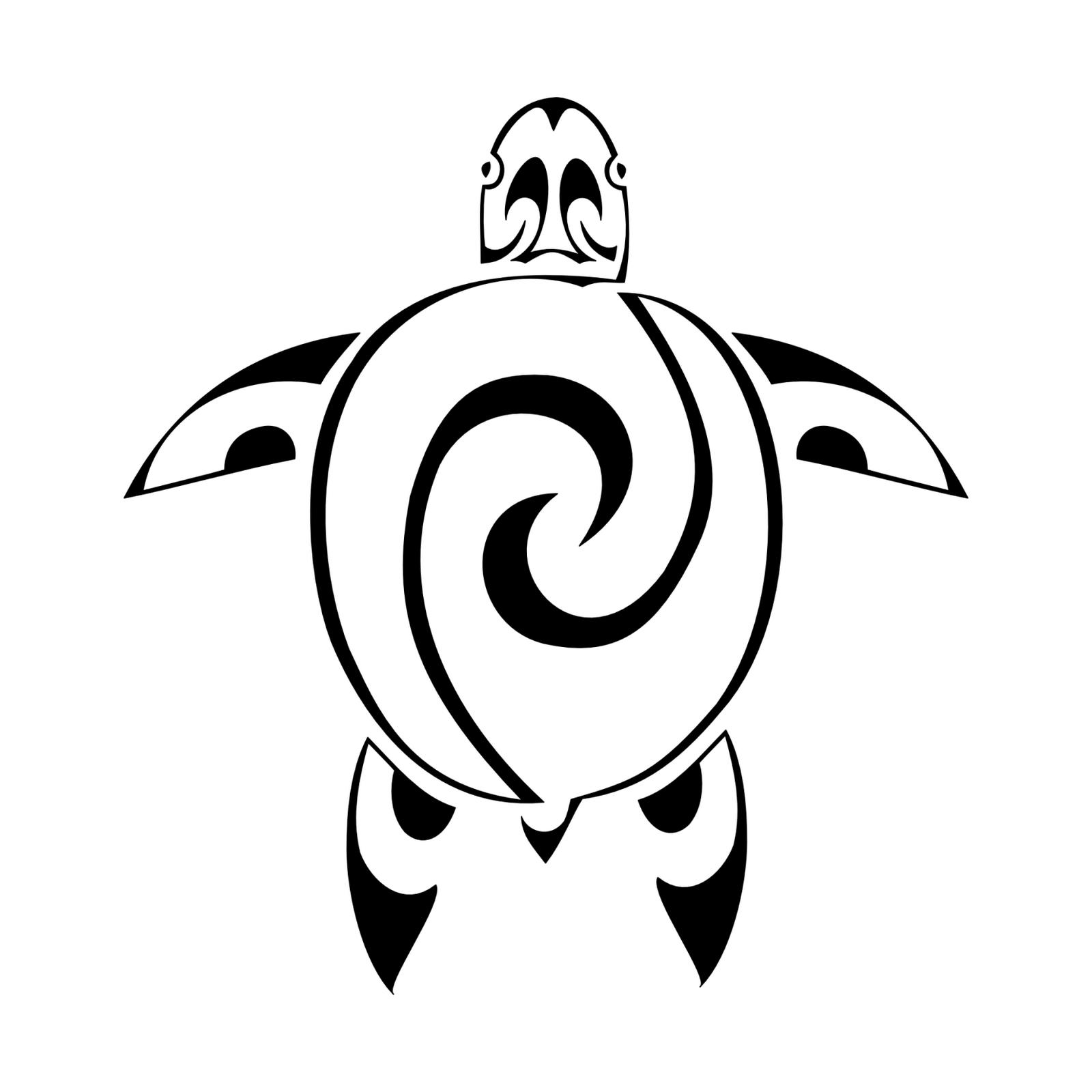 turtle art maori turtle tattoo royalty free stock vector. Black Bedroom Furniture Sets. Home Design Ideas