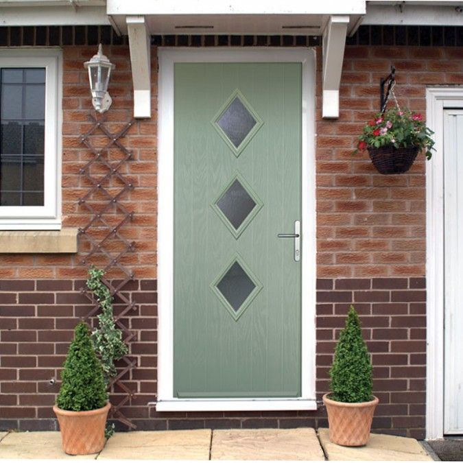 The New 3 Three Diamond Composite Door Style Launched