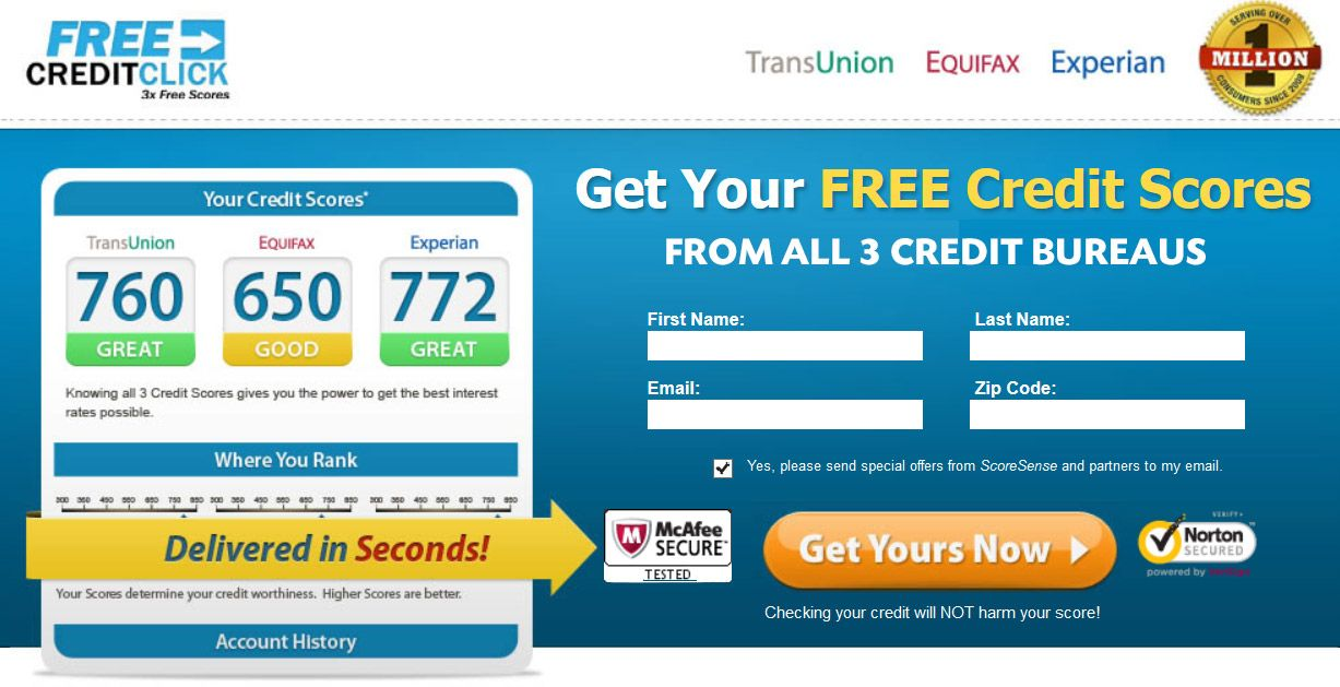 Our website   freecreditcheckup entitles every individual