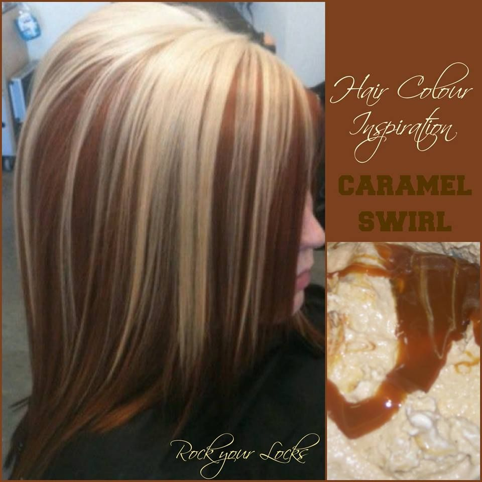 Caramel and blonde colour inspiration rock your locks for Caramel blond