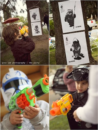 gina lee photography | redlands photographer | los angeles | children's photographer: A Galactic party... A Star Wars Adventure... {Redlands Photographer}