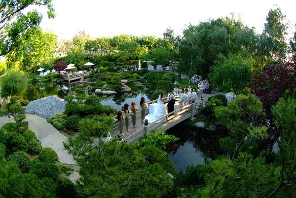 See Earl Burns Miller Japanese Garden On WeddingWire
