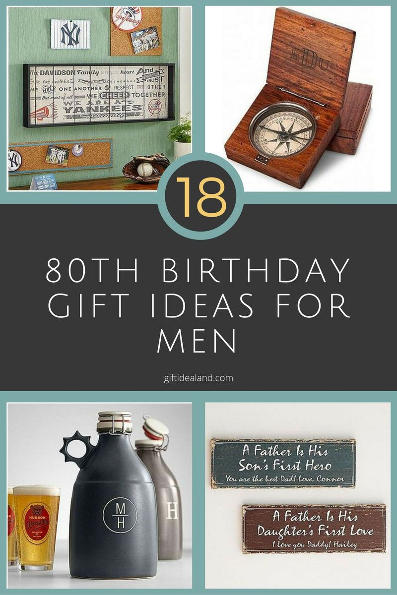 18 Great 80th Birthday Gifts For Men