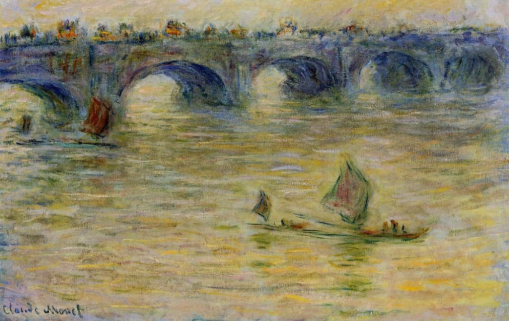 Claude Monet (1840-1926) -  Waterloo Bridge - 1899-1901 - Private collection