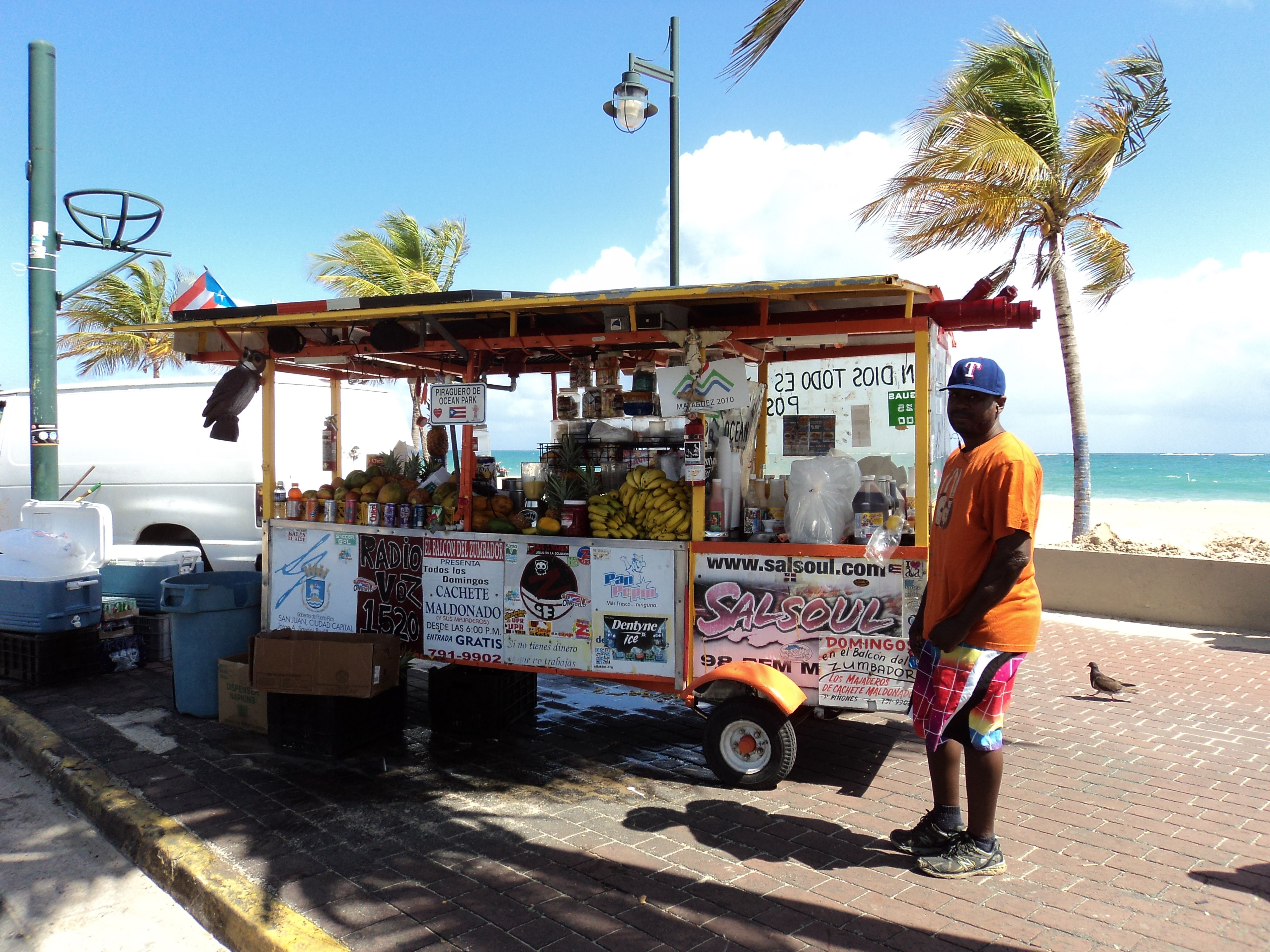 Puerto Rican Food Truck With Images