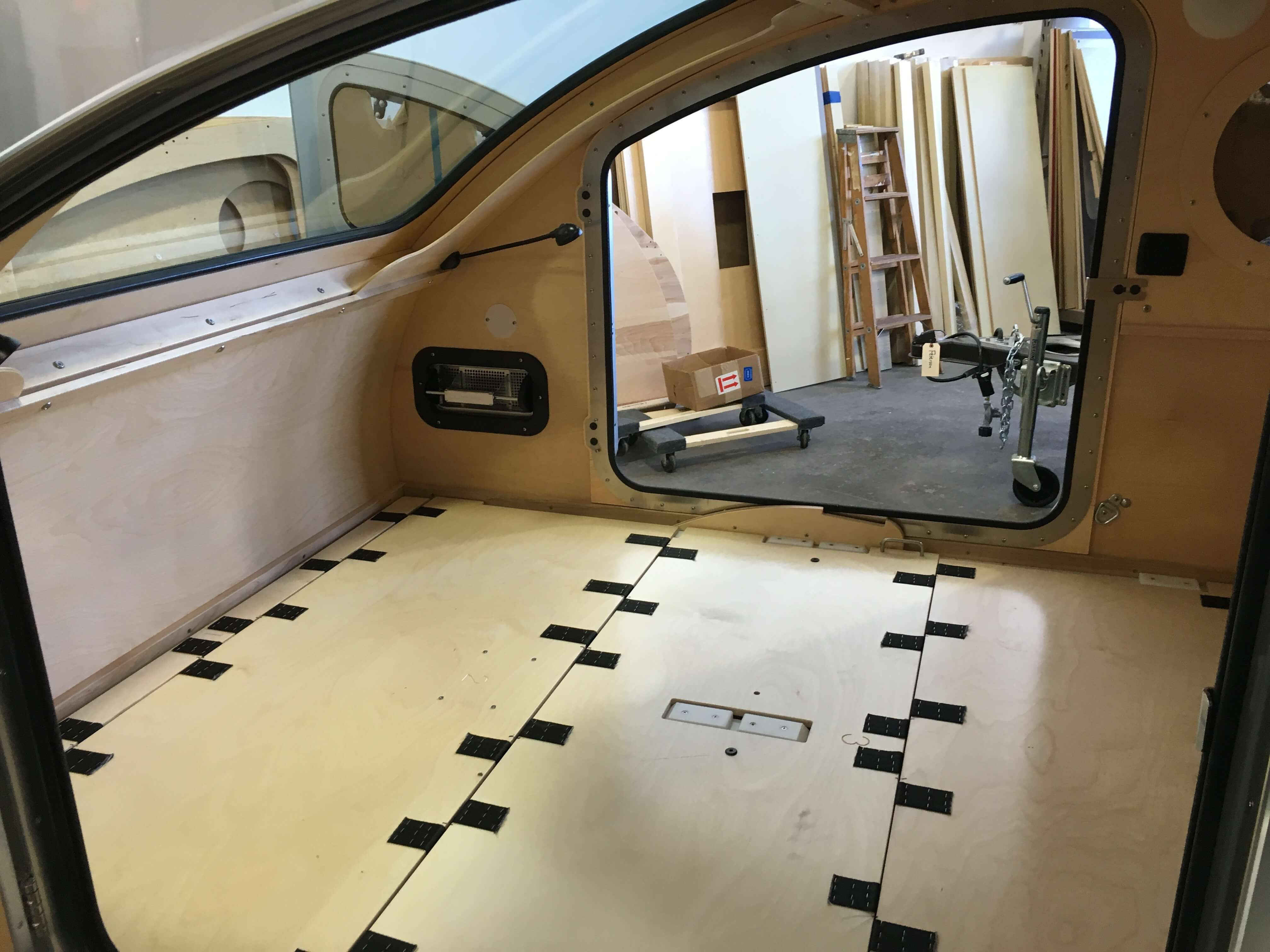 Bed mode – Vistabule | tiny homes and trailers | Pinterest | Caravana