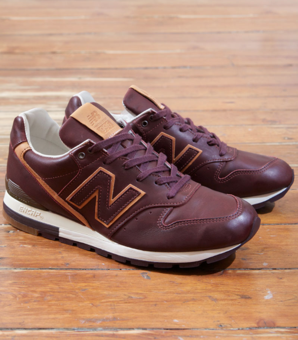 The Horween x New Balance 996 in Deep Burgundy is unveiled