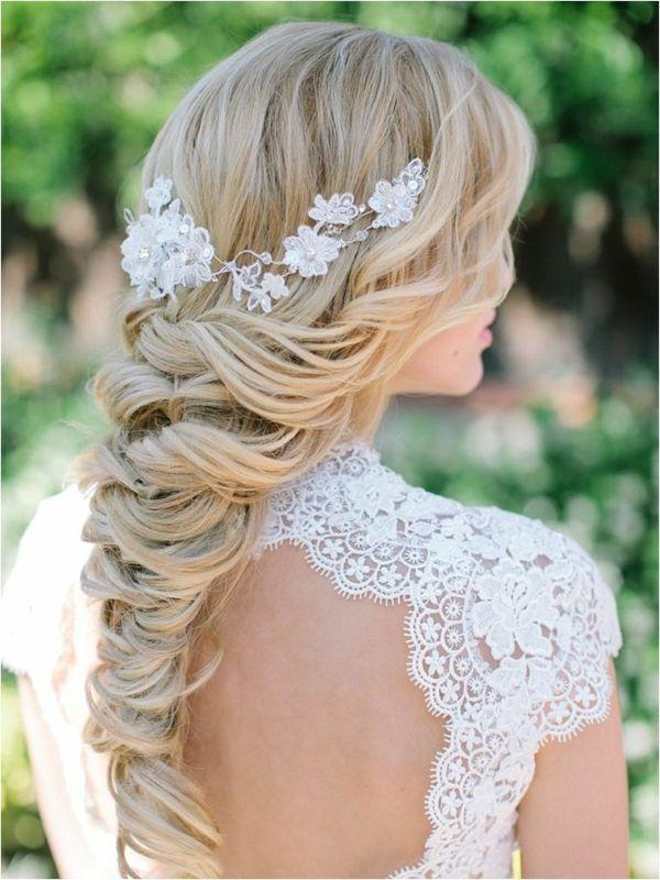 Brautfrisur Geflochten Frisur Die Eleganz Und Klasse Mit Sich Tragt Geflochtene Frisuren Hochzeitsfrisuren Frisur Hochzeit