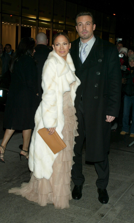 2002: Ben Affleck and Jennifer Lopez