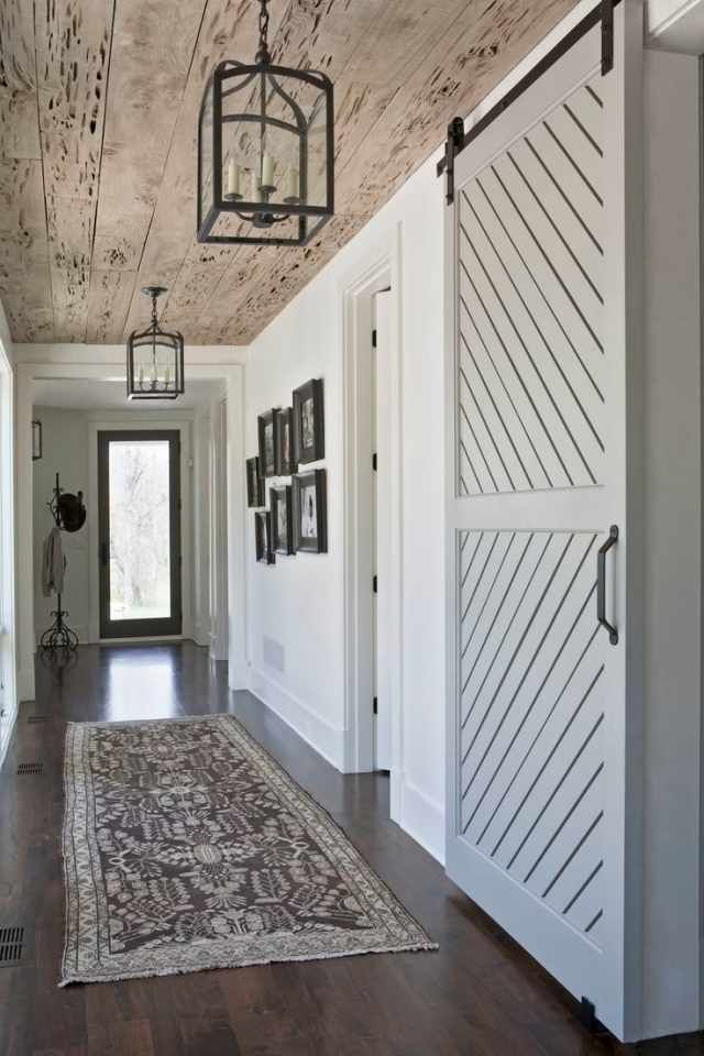 Sliding Barn Doors Aren't Just for Fans of HGTV's Fixer Upper