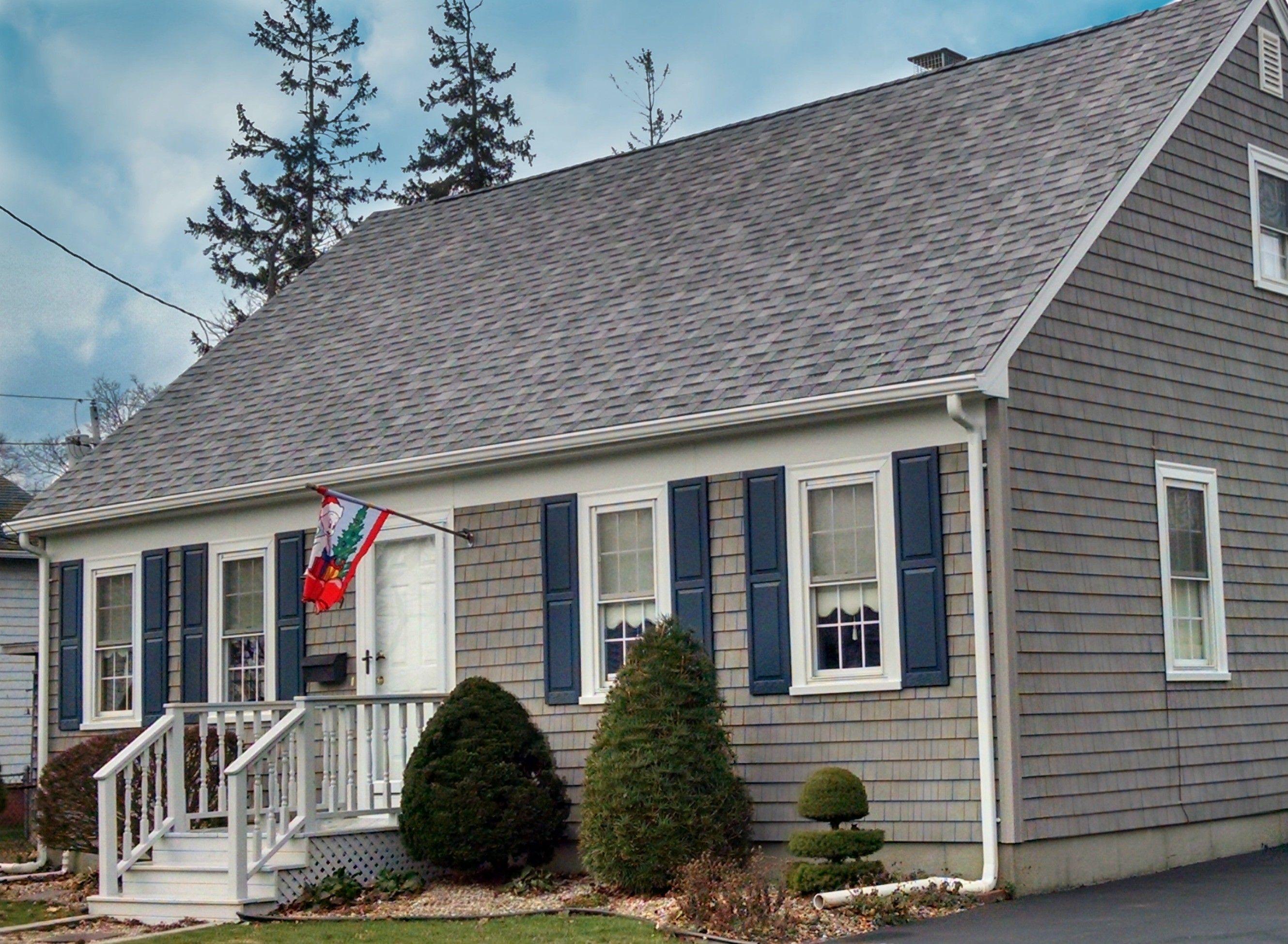 Mastic Cedar Discovery Vinyl Siding New Bedford Ma Home
