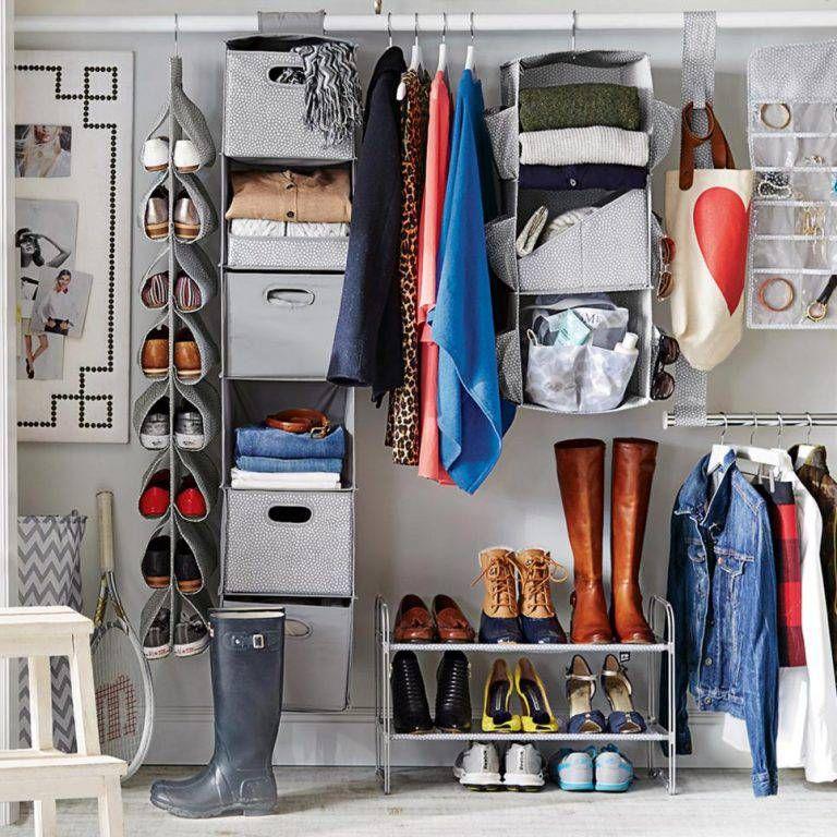 45 Ideias De Closet Pequeno E Barato Para Você Aplicar Na Sua Casa