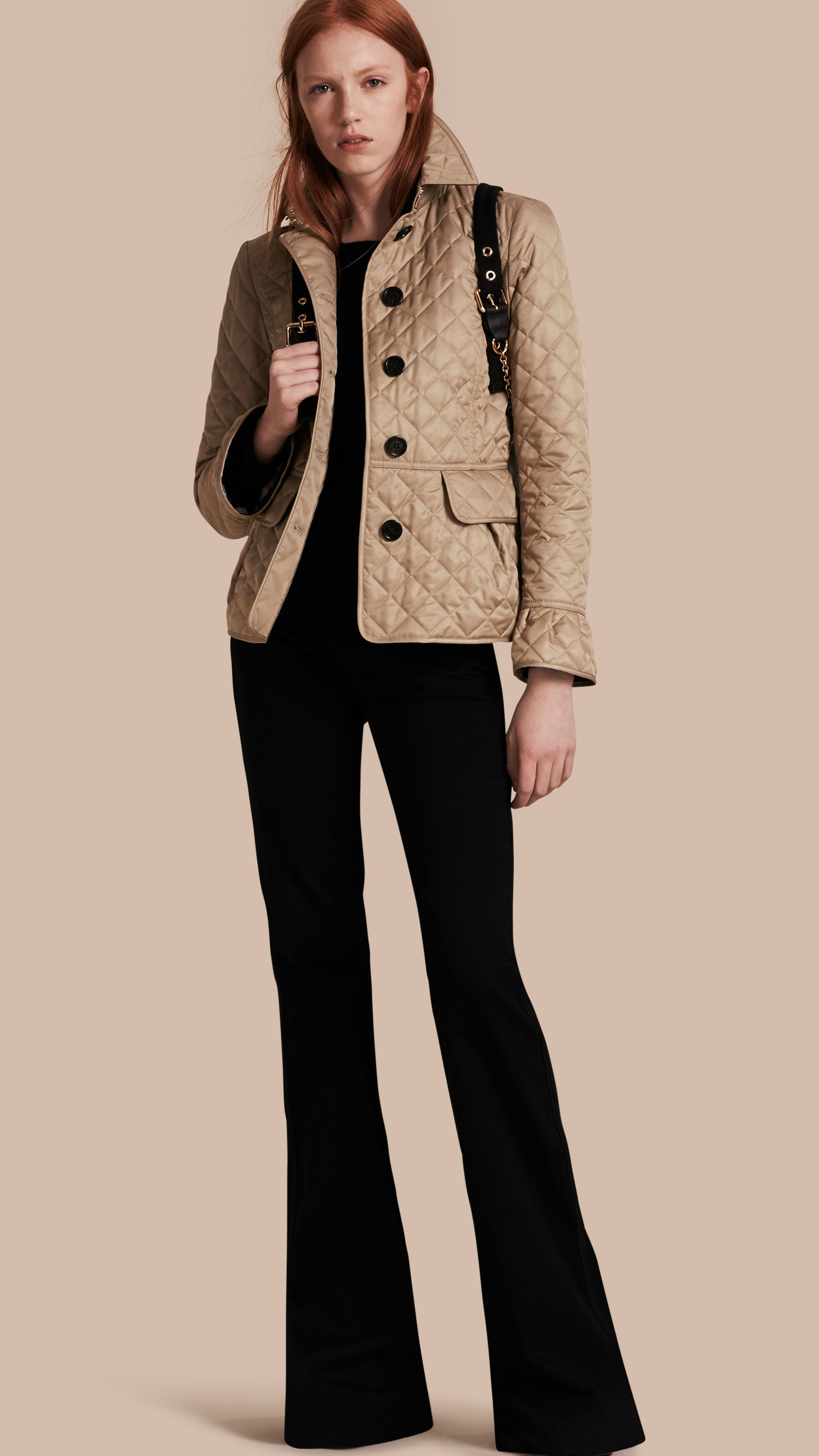 Burberry quilted jacket 2014