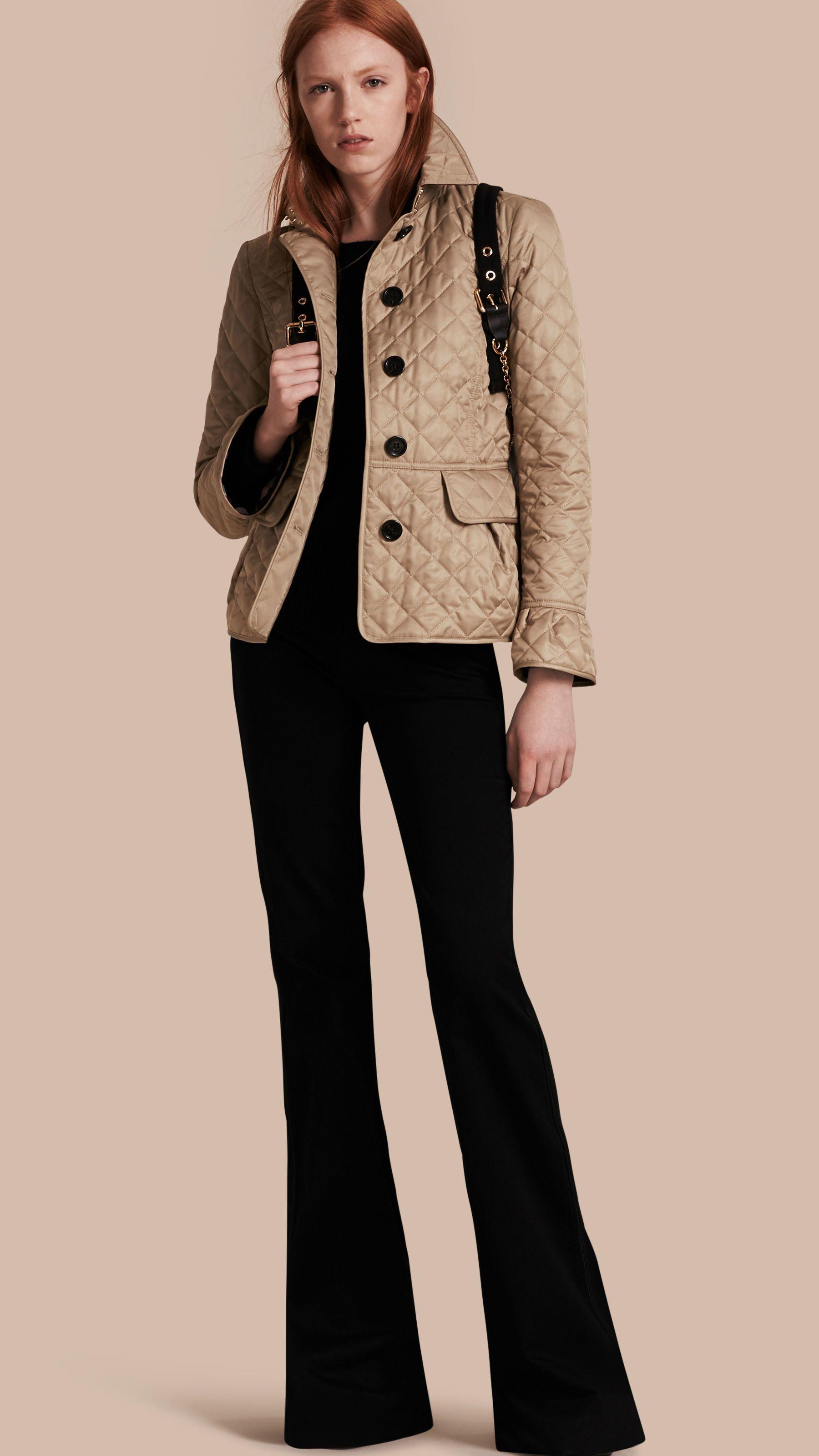quilted coat hood women fur fog f faux celine with detachable quilt for s down london chevron gunmetal